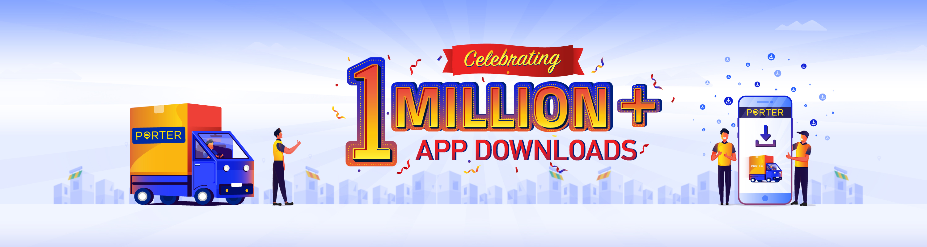 Hurray! Porter is million strong on Play store